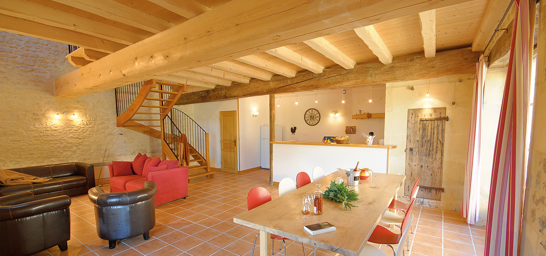 Great cottages for groups in the West of France