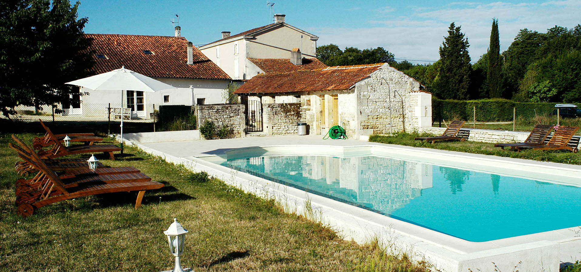 Holidays with swimming pool in Charente Maritime