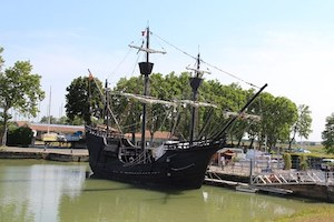 Rochefort and its boats