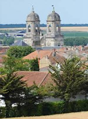 Saint Jean d'Angely, city at the center of Charente Maritime
